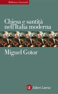 Chiesa e santità nell'Italia moderna - Librerie.coop