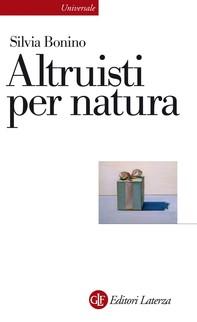 Altruisti per natura - Librerie.coop