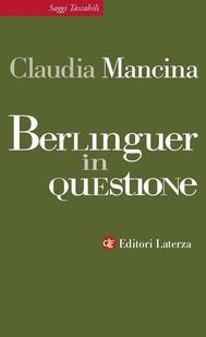 Berlinguer in questione - copertina