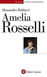 Amelia Rosselli - copertina