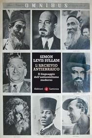 L'archivio antiebraico - copertina