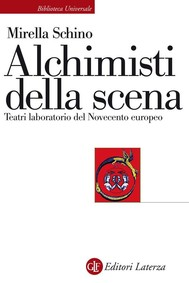 Alchimisti della scena - copertina