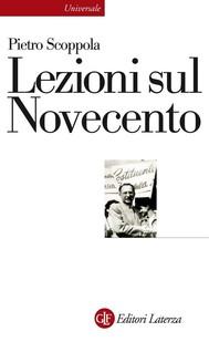 Lezioni sul Novecento - copertina