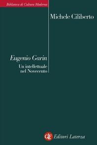 Eugenio Garin - Librerie.coop