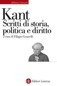 Scritti di storia, politica e diritto - Librerie.coop