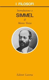 Introduzione a Simmel - Librerie.coop