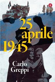 25 aprile 1945 - copertina