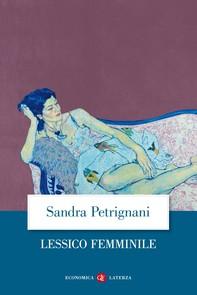 Lessico femminile - Librerie.coop