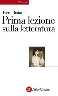 Prima lezione sulla letteratura - Librerie.coop