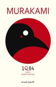 1Q84 - Libro 3 (Versione italiana) - copertina