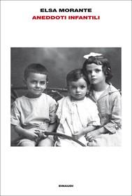 Aneddoti infantili - copertina