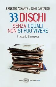 33 dischi senza i quali non si può vivere - copertina