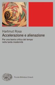 Accelerazione e alienazione - copertina