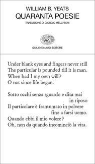 Quaranta poesie - copertina