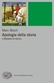 Apologia della storia - copertina