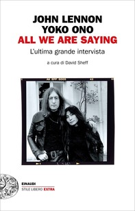 All we are saying - Librerie.coop