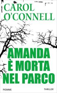 Amanda è morta nel parco - copertina
