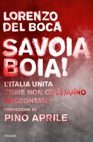Savoia boia! - copertina