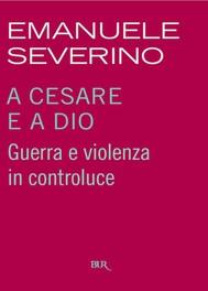 A Cesare e a Dio - copertina