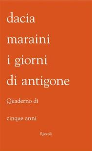I giorni di Antigone - copertina