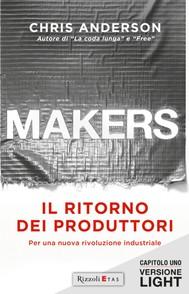 MAKERS. IL RITORNO DEI PRODUTTORI – Versione Light Capitolo 1 - copertina