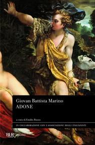 Adone - copertina