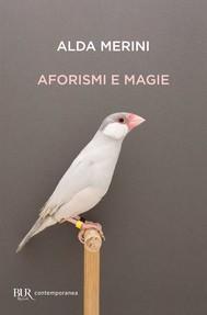 Aforismi e magie - copertina