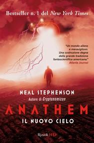 Anathem. Il nuovo cielo - copertina