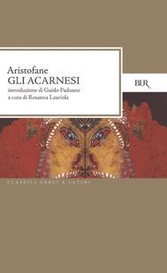 Acarnesi - copertina