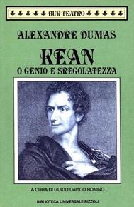 Kean o Genio e sregolatezza - copertina