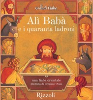 Alì Babà e i quaranta ladroni - Una fiaba orientale - copertina
