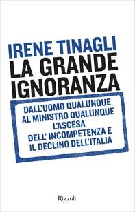 La grande ignoranza - Librerie.coop