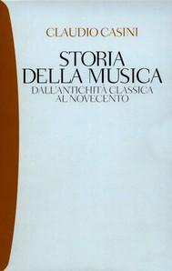 Storia della musica - copertina