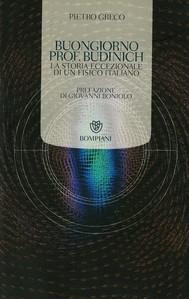 Buongiorno Prof. Budinich - copertina