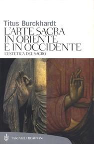 Arte sacra in Oriente e in Occidente - copertina