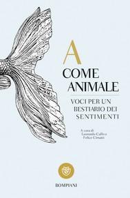 A come Animale - copertina