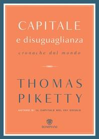 Capitale e disuguaglianza - Librerie.coop
