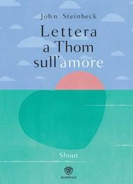 Lettera a Thom sull'amore - copertina