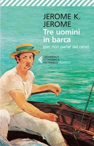 Tre uomini in barca - copertina