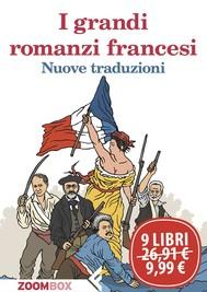 I grandi romanzi francesi - copertina