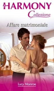 Affare matrimoniale - copertina