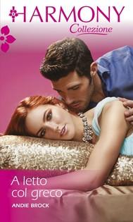 A letto col greco - copertina