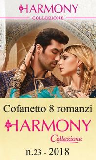 Cofanetto 8 Harmony Collezione n.23/2018 - Librerie.coop