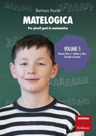 MATELOGICA - Volume 5 - Librerie.coop
