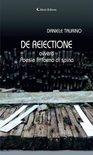 DE REIECTIONE ovvero - copertina