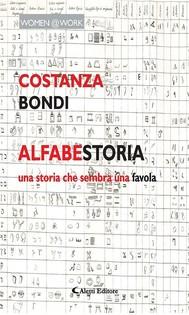 AlfabeStoria dell'alfabeto italiano - copertina