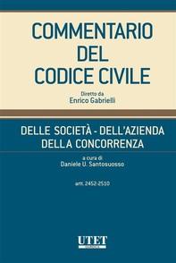 Delle società - Dell'azienda - Della concorrenza, artt. 2452-2510 - vol. III - Librerie.coop