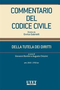 Commentario del Codice Civile diretto da Enrico Gabrielli  - Librerie.coop