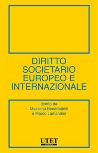 Diritto societario europeo e internazionale - Librerie.coop