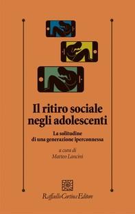 Il ritiro sociale negli adolescenti - Librerie.coop